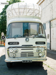 Vintage Mobile Cinema at This Way Up